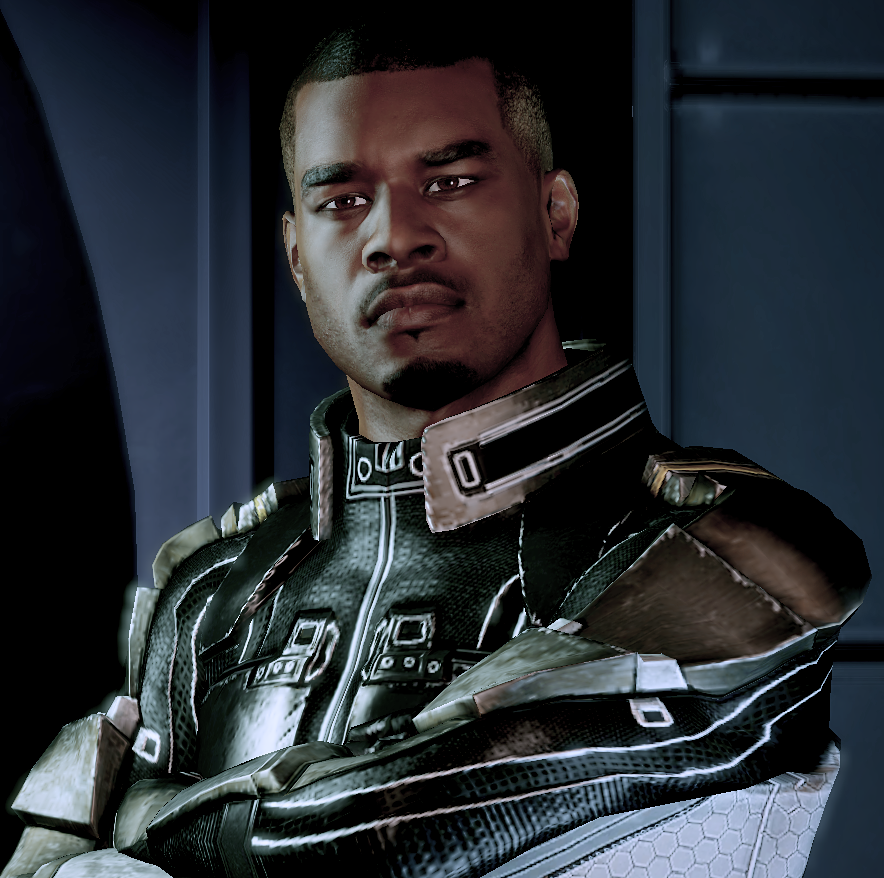 Black Commander Shepard | Danger Brain